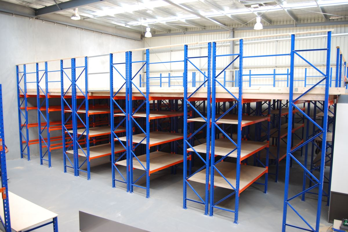 Mezzanine Floors Rack Supported