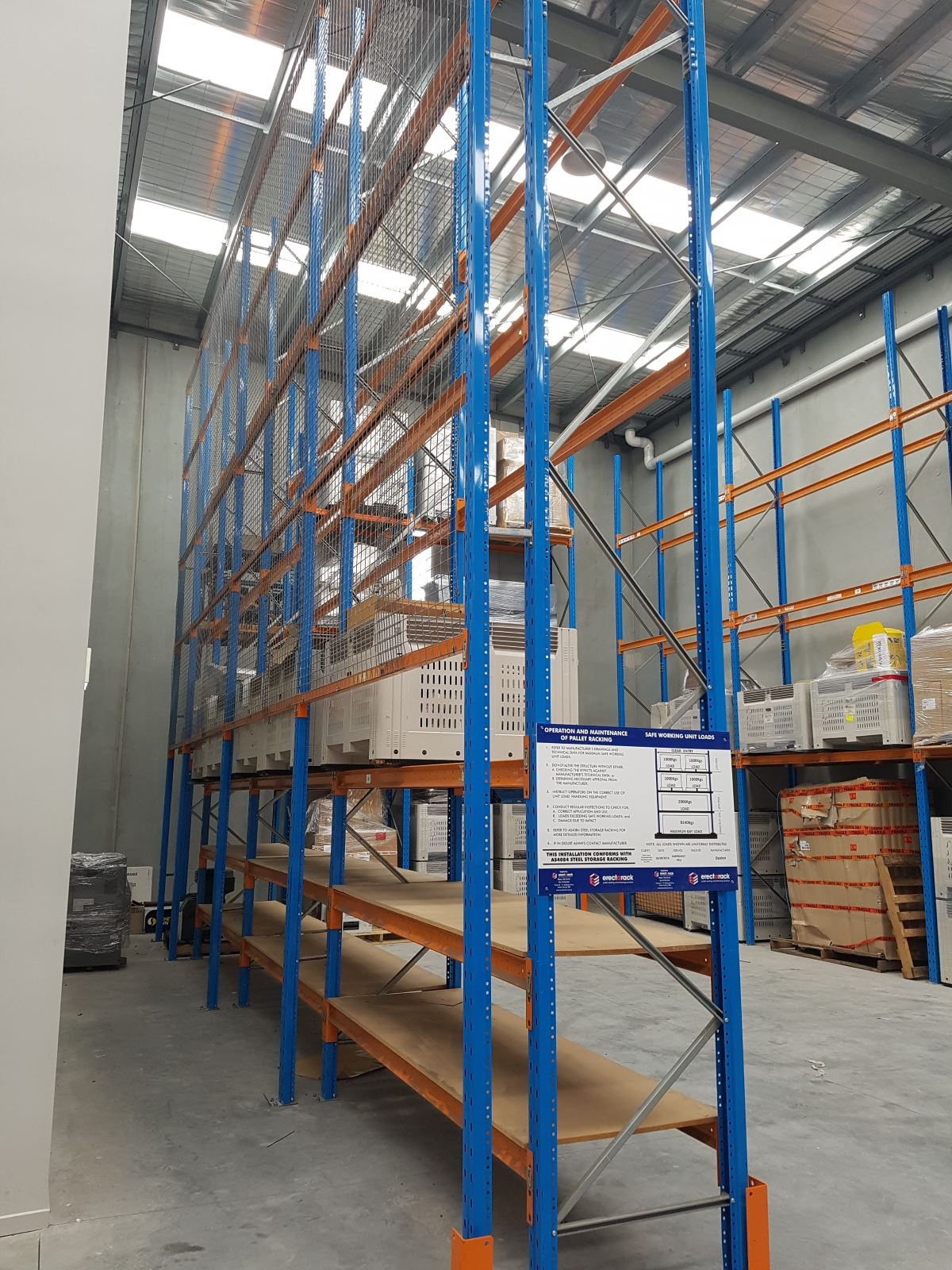 Pallet Racking Safety Barriers