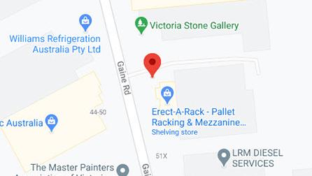 Pallet Racking Australia Map
